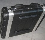 "Rack case 19"" 2 U abs Fligth case"