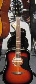 Eko  Ranger 6 BK ò Sunburst Chitarra Acustica non amplificata