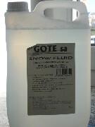 Liquido per effetto neve